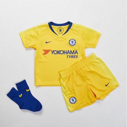 Chelsea FC 18/19 - Kit de Foot Extérieur Enfants