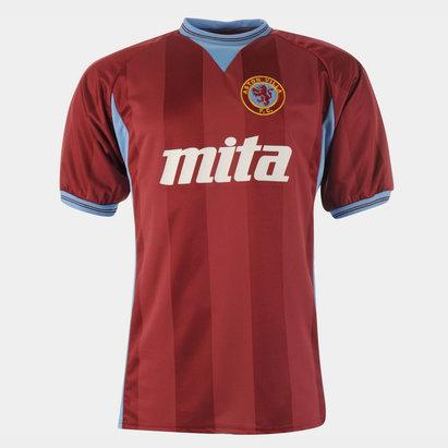 Score Draw Aston Villa FC 1984 Domicile, Maillot de Football pour hommes