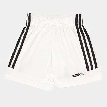 adidas 3 Bandes, Short blanc et noir pour enfants