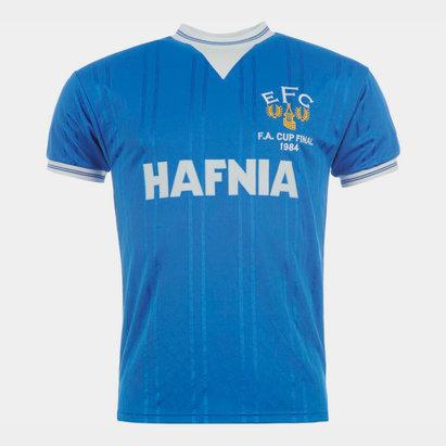 Score Draw Everton FC 1984, Maillot de football domicile pour hommes