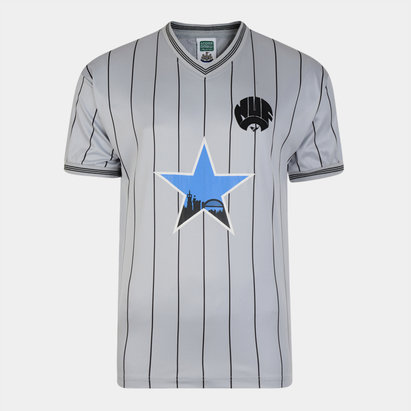 Score Draw Newcastle United 1984 Maillot de Football retro extérieur