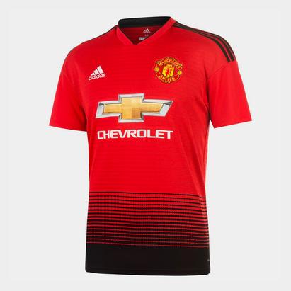 adidas Manchester United Home Shirt 2018 2019