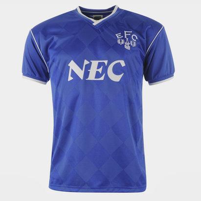 Score Draw Everton FC 1987, Maillot de football domicile pour hommes