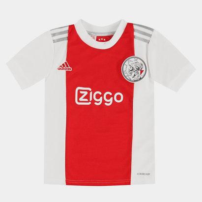 adidas Ajax Home Shirt 2021 2022 Junior