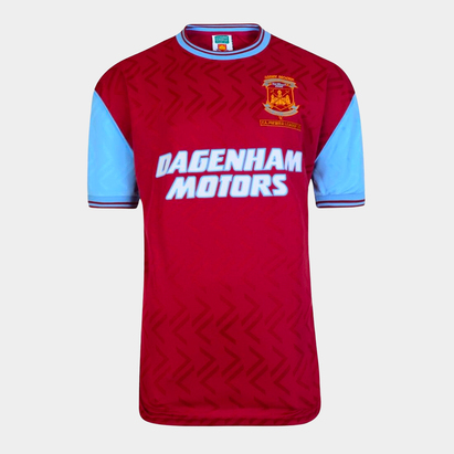 Score Draw Maillot de football West Ham United Domicile 1994