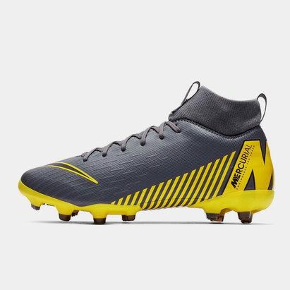 Nike Mercurial Superfly Academy, Crampons de Football pour enfants défenseurs, terrain sec