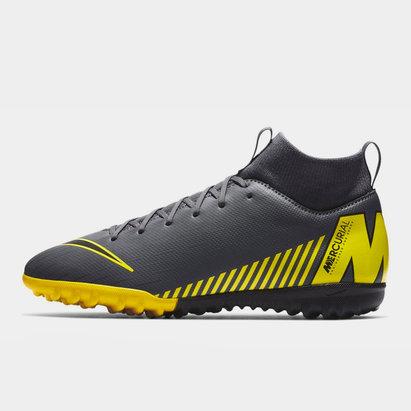 Nike Mercurial Superfly Academy, Chaussures de Football pour enfants défenseurs, terrain synthétique
