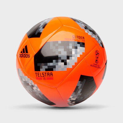 adidas Telstar Glider, Ballon de football orange Coupe du monde 2018