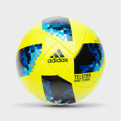 adidas Telstar Glider, Ballon de football jaune Coupe du monde 2018