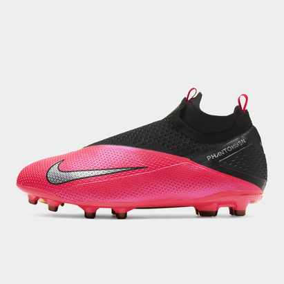 Nike Phantom Vision Elite DF FG, Crampons de Foot pour Enfants
