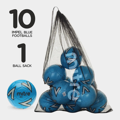 Mitre Impel, Ballon de football Bleu