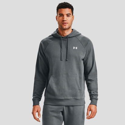 Under Armour Rival Fitted, Sweatshirt avec capuche pour homme