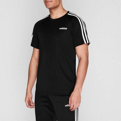 adidas Trois bandes Estro, T-shirt pour homme