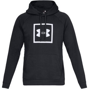 Under Armour Box Logo Hoodie Mens