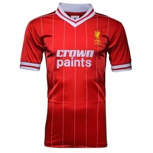 Team Liverpool 1982 Home Shirt Mens