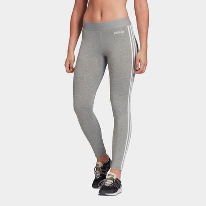 adidas 3 Bandes Legging gris pour femmes