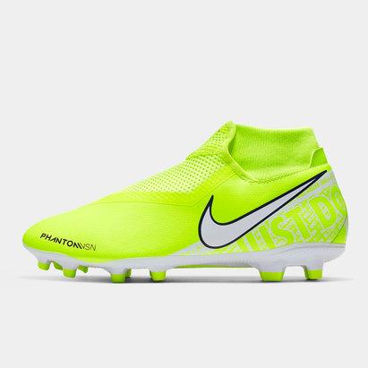 Nike Phantom Vision Academy DF, Crampons de Football pour hommes