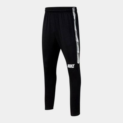 Nike Strike, Pantalon de jogging pour enfants en noir et blanc