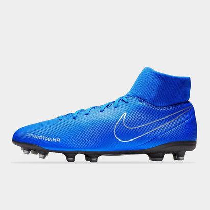 Nike Phantom Vision Club Crampons de football pour homme (défenseur), terrain sec