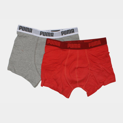 Puma Caleçons Boxer de Base - Lot de 2