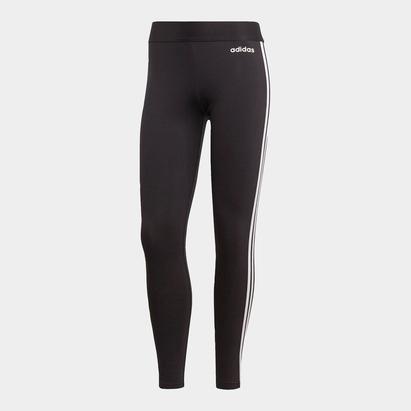 adidas 3 Bandes Legging noir et blanc pour femmes