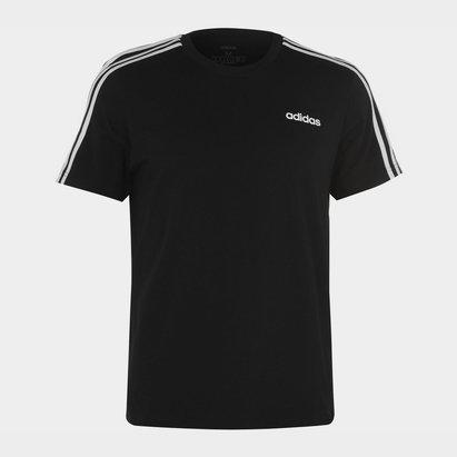adidas 3 Bandes, T-shirt noir pour hommes