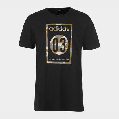 adidas Camo, T-shirt pour Homme