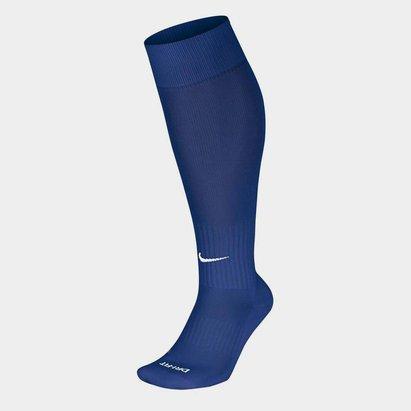 Nike Chaussettes de Foot bleues pour enfants