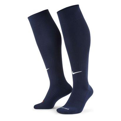 Nike Chaussettes de Foot bleues marine pour enfants