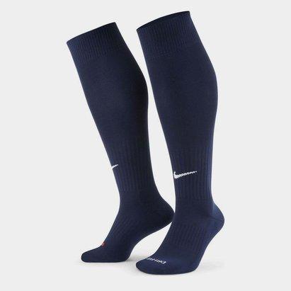 Nike Chaussettes de Football bleues marine pour bébé