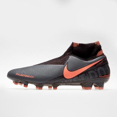 Nike Phantom Vision Elite DF, Crampons de Football FG pour hommes
