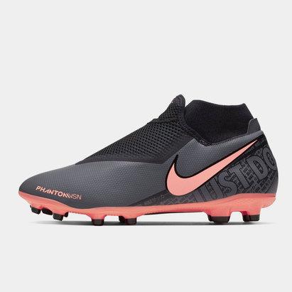 Nike Phantom Vision Academy DF FG, Crampons de Football