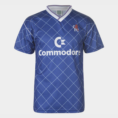 Score Draw Maillot de football retro Chelsea FC 1988