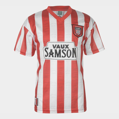 Score Draw Maillot de Football retro Sunderland 1997