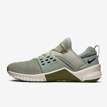 Nike Free X Metcon 2, Chaussures de sport vertes pour hommes