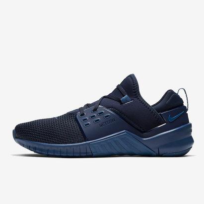 Nike Free X Metcon 2, Chaussures de sport bleues pour hommes