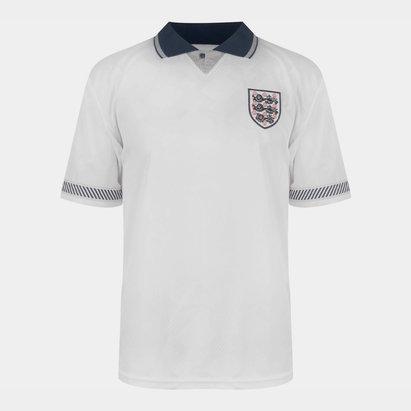 Score Draw Polo pour hommes, Angleterre 1990 domicile