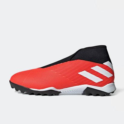 adidas Nemezis 19.3, Chaussures de sport pour terrain synthétique. Sans lacets