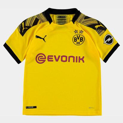 Puma Maillot de Football pour enfants, Borussia Dortmund Domicile 2019/2020