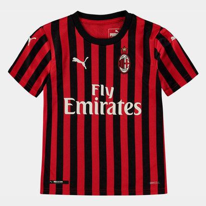 Puma Maillot de Football pour enfants, AC Milan domicile 2019/2020