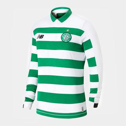New Balance Maillot manches longues pour enfants du Celtic de Glasgow domicile 2019/2020