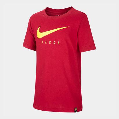 Nike T-shirt FC Barcelone 2019/2020 avec logo swoosh pour enfants