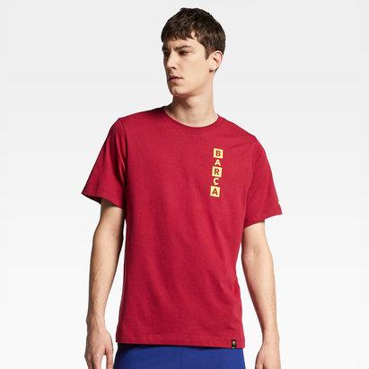 Nike T-shirt de football pour hommes, FC Barcelone