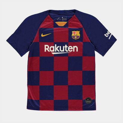 Nike Maillot de Football domicile FC Barcelone 2019/2020, pour enfants