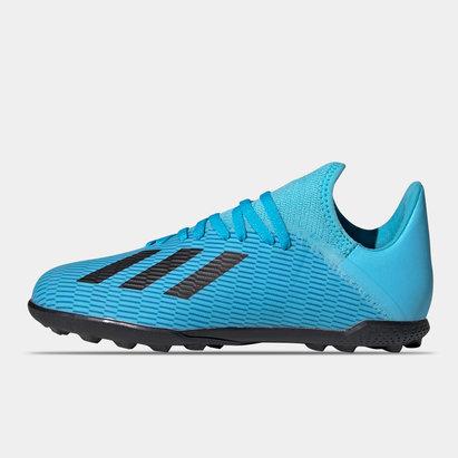 adidas X 19.3 Chaussures de sport pour enfants, Terrain Synthétique