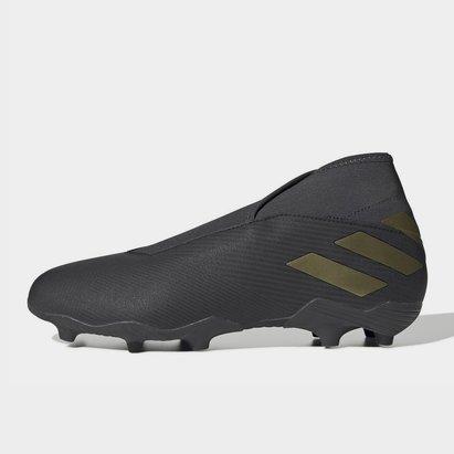 adidas Nemeziz 19.3 FG, Crampons de football sans lacets pour hommes