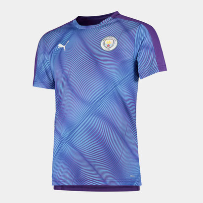 Puma Maillot de Football pour hommes, Manchester City Stadium 2019/2020
