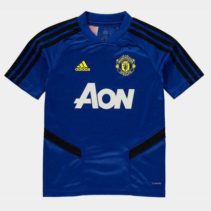 adidas Maillot d'entraînement, Manchester United 2019/2020 pour enfants