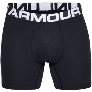 Under Armour 3 Pack Cotton Boxers Mens