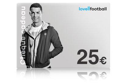 Lovell Soccer Lovell Football 25€ - Cheque Cadeau Virtuel
